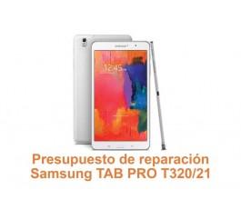 Presupuesto de reparación Samsung Tab Pro T320