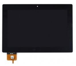 Pantalla completa táctil y lcd para Lenovo IdeaTab S6000 negra