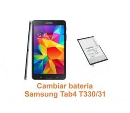 Cambiar batería Samsung Tab4 T330