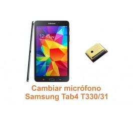 Cambiar micrófono Samsung Tab4 T330