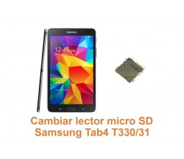 Cambiar lector micro SD Samsung Tab4 T330