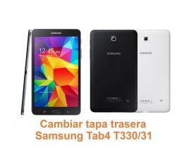 Cambiar tapa trasera Samsung Tab4 T330