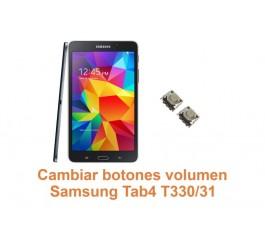 Cambiar botones volumen Samsung Tab4 T330