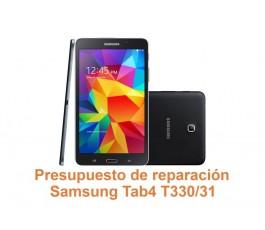 Presupuesto de reparación Samsung Tab4 T330