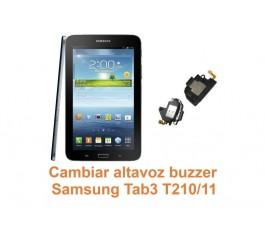 Cambiar altavoz buzzer Samsung Tab3 T210-T211