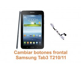 Cambiar botones frontal Samsung Tab3 T210-T211