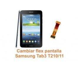 Cambiar flex pantalla Samsung Tab3 T210-T211
