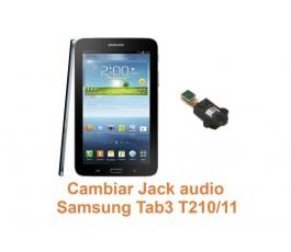 Cambiar Jack audio Samsung Tab3 T210-T211