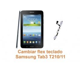 Cambiar flex teclado Samsung Tab3 T210-T211