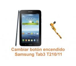 Cambiar botón encendido Samsung Tab3 T210-T211