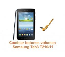 Cambiar botones volumen Samsung Tab3 T210-T211
