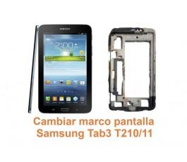 Cambiar marco pantalla Samsung Tab3 T210-T211