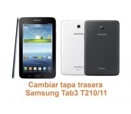 Cambiar tapa trasera Samsung Tab3 T210-T211