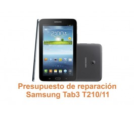 Presupuesto de reparación Samsung Tab3 T210-T211
