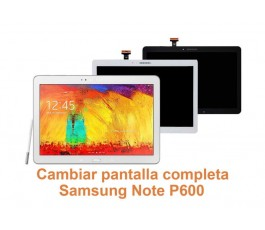 Cambiar pantalla completa Samsung Note P600