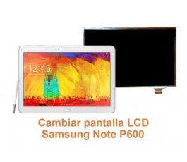 Cambiar pantalla lcd Samsung Note P600
