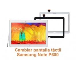 Cambiar pantalla táctil Samsung Note P600
