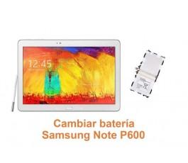 Cambiar batería Samsung Note P600