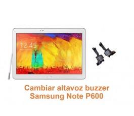 Cambiar altavoz buzzer Samsung Note P600