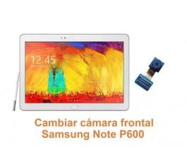 Cambiar cámara frontal Samsung Note P600