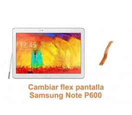 Cambiar flex pantalla Samsung Note P600