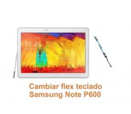 Cambiar flex teclado Samsung Note P600