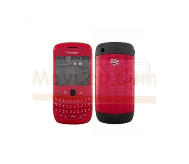 Carcasa Completa Roja para BlackBerry Curve 9300 - Imagen 1