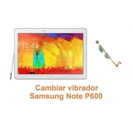 Cambiar vibrador Samsung Note P600