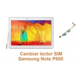Cambiar lector SIM Samsung Note P600