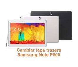 Cambiar tapa trasera Samsung Note P600