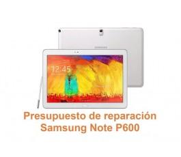Presupuesto de reparación Samsung Note P600