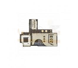 Modulo Lector Tarjeta Sim y Micro SD para BlackBerry Curve 9350 9360 9370 - Imagen 1