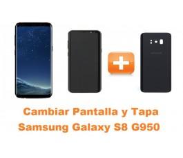 Cambiar pantalla y tapa Samsung Galaxy S8 G950
