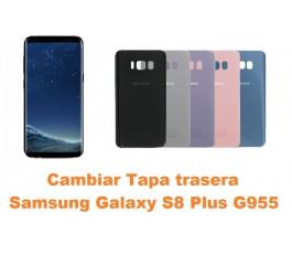 Cambiar tapa trasera Samsung Galaxy S8 Plus G955