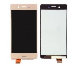 Pantalla completa táctil y lcd para Sony Xperia X F5121 F5122 rosa oro
