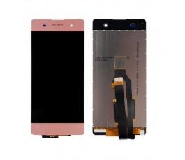 Pantalla completa táctil y lcd para Sony Xperia XA rosa