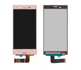 Pantalla completa táctil y lcd para Sony Xperia X Compact rosa