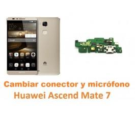 Cambiar conector carga y micrófono Huawei Mate 7