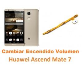 Cambiar encendido y volumen Huawei Mate 7