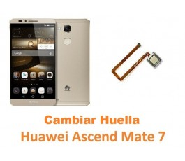 Cambiar lector huella Huawei Mate 7