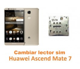Cambiar lector tarjeta sim Huawei Mate 7