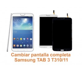 Cambiar pantalla completa Samsung Tab3 T310