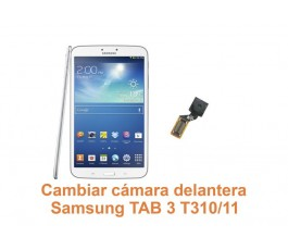 Cambiar cámara delantera Samsung Tab3 T310