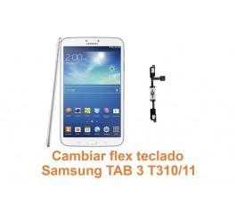 Cambiar flex teclado Samsung Tab3 T310