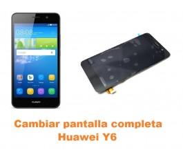 Cambiar pantalla completa Huawei Y6
