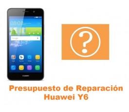 Presupuesto de reparacion Huawei Y6
