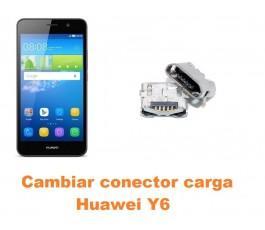 Cambiar conector carga Huawei Y6