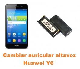 Cambiar auricular altavoz Huawei Y6