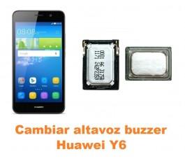 Cambiar altavoz buzzer Huawei Y6
