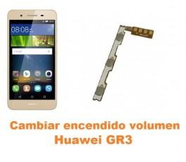Cambiar encendido y volumen Huawei GR3